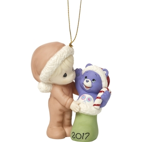 Precious Moments 2017 Dated Care Bear Ornament