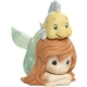 Precious Moments Little Mermaid and Flounder Figurine