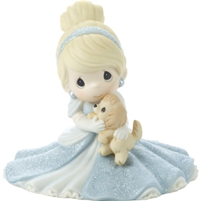 Precious Moments Cinderella with Dog Figurine 171095