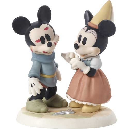 Precious Moments Brave Little Tailor Mickey Mouse Gets Kisses 171702