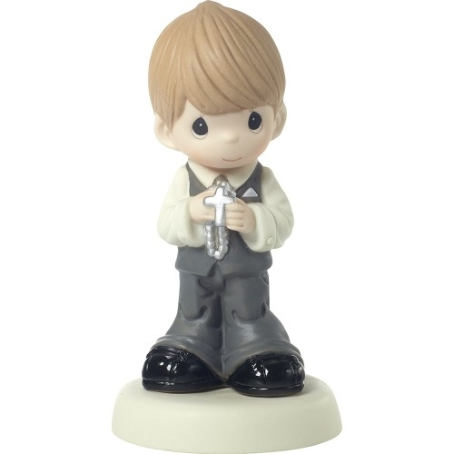 Precious Moments First Holy Communion Boy Figurine 172010