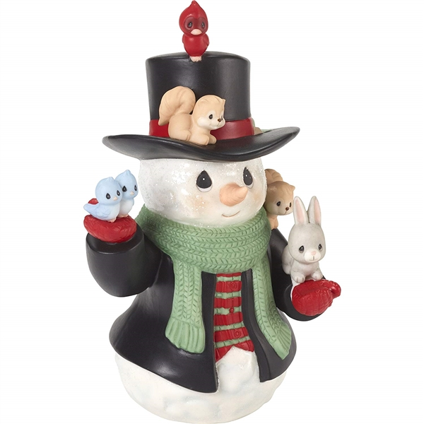 Precious Moments 9th Annual Snowman Series Figurine 181025
