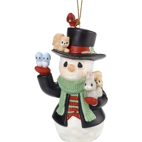 Precious Moments 9th Annual Snowman Series Ornament, 181026