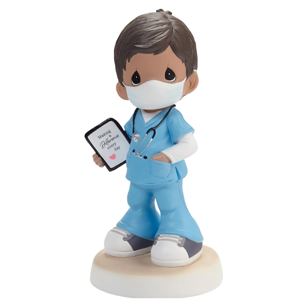 Precious Moments Healthcare Worker Boy Figurine, 202433