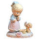 Blonde Birthday Girl, Age 12 - Precious Moments Growing in Grace Figurine, 260932