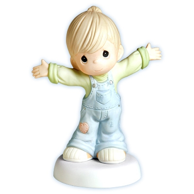 Boy with Open Arms - Precious Moments Figurine, 4001673