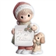 Boy with Christmas Sign - Precious Moments Light-up Figurine, 4003165