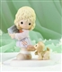 Girl with Bible and Puppy - Precious Moments Figurine, 4024086