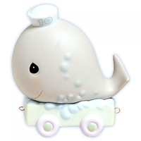 Whale Birthday Train, Age 10 Precious Moments Figurine 521825