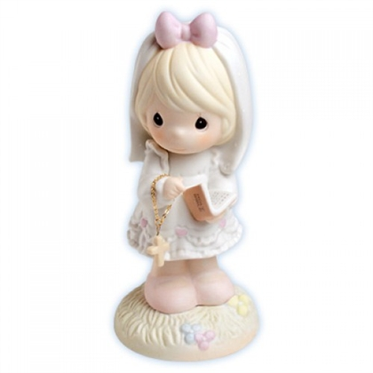 Confirmation Day, Girl - Precious Moments Figurine, 523496
