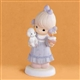 Girl with Birthday Cake and Baby Lamb - Precious Moments Figurine, 531561