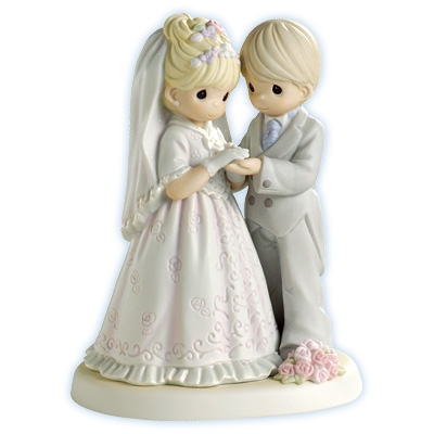 Wedding Couple - Precious Moments Figurine, 550027