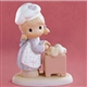 Girl Kneading Bread - Precious Moments Figurine, 679844