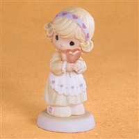 Girl with Candy Heart - Precious Moments Figurine, 689548
