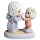 Mother and Daughter Exchanging Christmas Gifts - Precious Moments Figurine, 710010