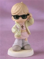 Boy with Shades - Precious Moments Figurine, 730041