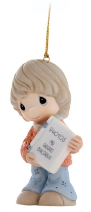 Grandmother with Photo Album - Precious Moments Ornament, 810028