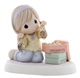 Girl Unpacking Christmas Ornaments - Precious Moments Figurine, 810029