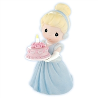 Cinderella with Birthday Cake - Precious Moments Figurine, 820002