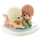 Boy and Girl with Map Precious Moments Figurine, 820006