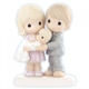 Parents with Baby at Baptism - Precious Moments Figurine, 830014