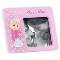 Valentine Boy Holding Rose - Precious Moments Photo Frame, 834002