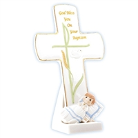 Boy Baptism Cross - Precious Moments, 834020