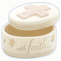 Faith Covered Box - Precious Moments, 844014