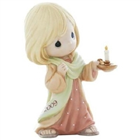 Girl with Candle - Precious Moments 2009 Dated Figurine, 910001