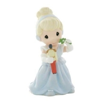 Cinderella with Mistletoe and Prince Toy - Precious Moments Figurine 910041