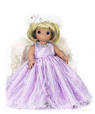 Precious Moments Doll Heaven Must Have Sent You 1236