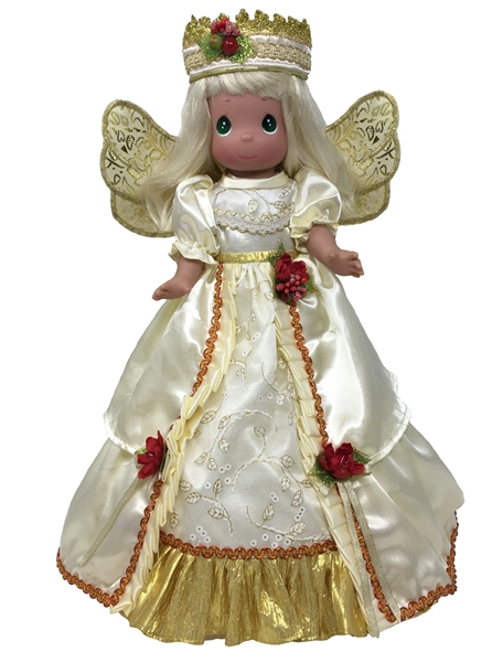 Precious Moments 18 Inch Doll Angelic Glory Ivory Tree Topper 1247