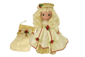 Precious Moments 16 Inch 2018 Christmas Doll 1248