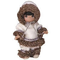 Eskimo - 9in Precious Moments Doll, 1510