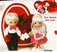 Precious Moments doll Two Hearts One Love 2127