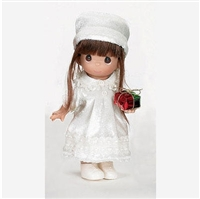 Precious Moments Doll Love From Me To You Brunette Hair 2158