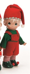 Precious Moments Doll Tiny Toymaker Boy 3483
