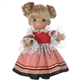 Precious Moments 'Cermaka (Czechoslovakia)' 9in Doll, 3489