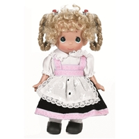 Precious Moments Gretchen Germany 9 inch Doll, 3492