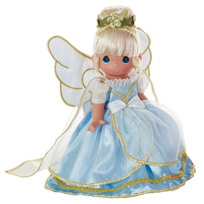 Blonde Hair 9 inch Angels from Above Precious Moments Doll | 3566