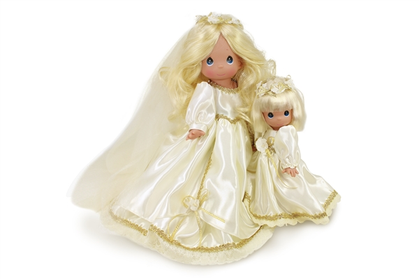 Precious Moments 9 Inch Doll Blissful Bridesmaid 3687