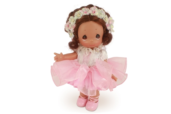 Precious Moments Doll Prima Ballerina Brunette 3688