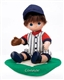 Precious Moments Doll My Little Slugger Brunette Hair 4476