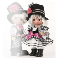 Send In The Clowns, Girl - Precious Moments Doll, 4661