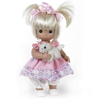 Precious Moments 'Fur-ever Friends' 12in Doll, 4669