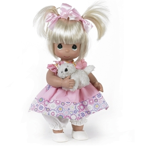 Precious Moments Fur-ever Friends 12 inch Doll, 4669