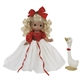 Precious Moments 'Joyful Season' Blonde 12in Doll with Goose, 4694