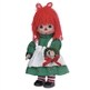 Christmas Raggedy Ann 12in Precious Moments Doll, 4721