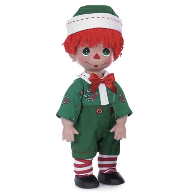 Christmas Raggedy Andy, 12in Precious Moments Doll, 4722