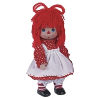 Raggedy Ann - Precious Moments 12in Doll, 4760